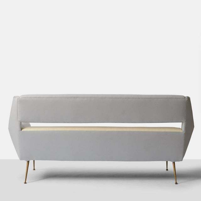 Gigi Radice Gigi Radice Two Tone Sofa For Sale - Image 4 of 8