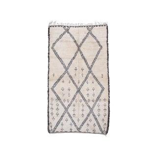 Beni Ouarain or Marmoucha Carpet (Dk-109-83) For Sale