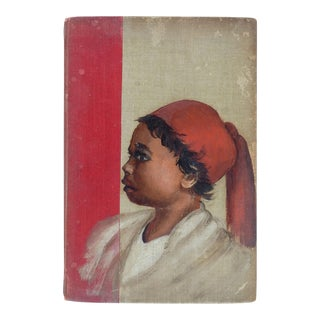 1899 Rudyard Kipling Book With Hand Painted Cover Portrait For Sale
