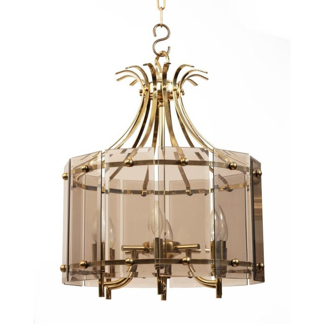 Mid-Century Modern Pair of Mid-Century Chandeliers For Sale - Image 3 of 4