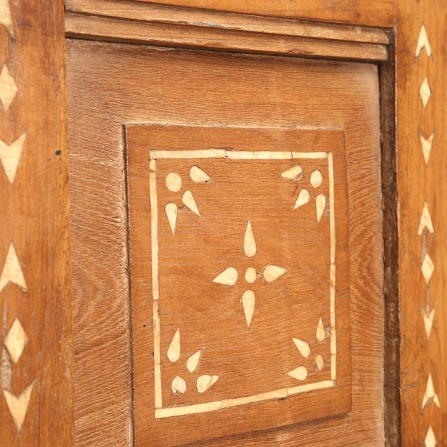 Anglo-Indian Antique Bone Inlay Door For Sale - Image 3 of 4