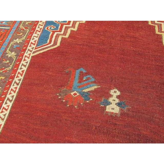 Mid 19th Century Turkish Ladik Rug For Sale - Image 5 of 6