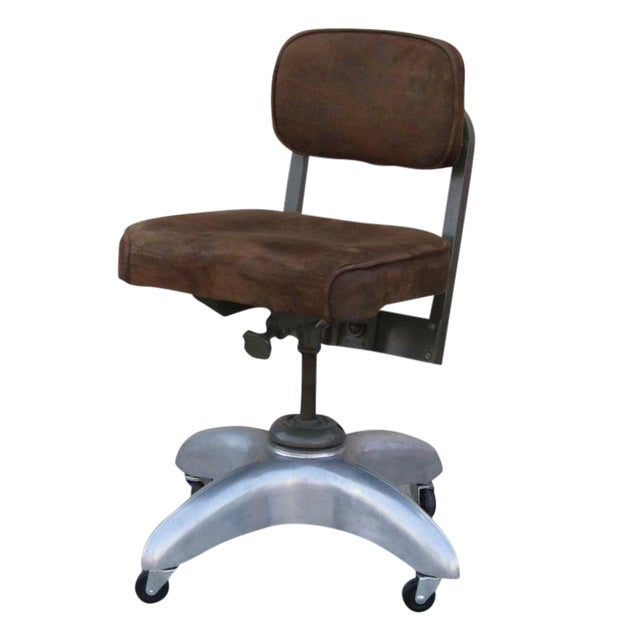 Goodform American Mid-Century Adjustable Office Chair For Sale