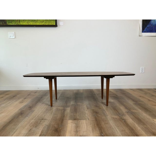 1960s Abel Sorensen for Knoll Surfboard Coffee Table For Sale - Image 5 of 13