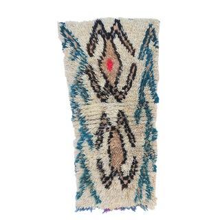 """Vintage Berber Azilal Rug-2'9'x4'6"""" For Sale"""