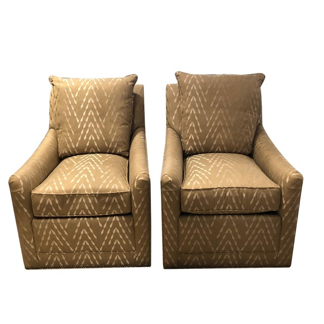 Pair of Lipkind Chairs by Tomlinson For Sale