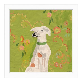 """Arlo, Green"" By Dana Gibson, Framed Art Print"