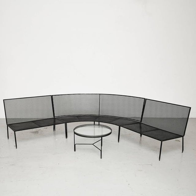 Set of Mathieu Mategot Sofa and Coffee Table, circa 1950 - Image 2 of 8