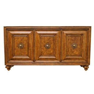 Italian Thomasville Furniture Cassara Collection Marble Topped Buffet For Sale