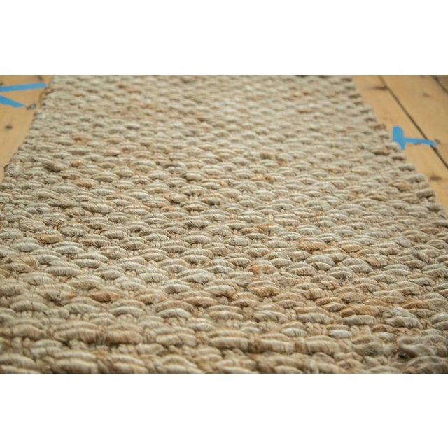 "Hand Braided Ivory Entrance Mat - 2' X 3'1"" - Image 2 of 2"