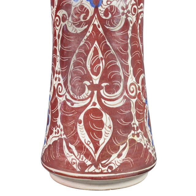 Hispano- Moresque Ware Pottery Vase For Sale - Image 4 of 10