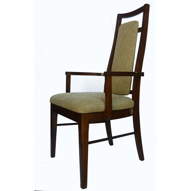 1960's Dining Room Chairs in Walnut - Set of 6 - Image 9 of 9