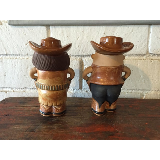 Cowboy & Cowgirl Salt and Pepper - A Pair - Image 4 of 8