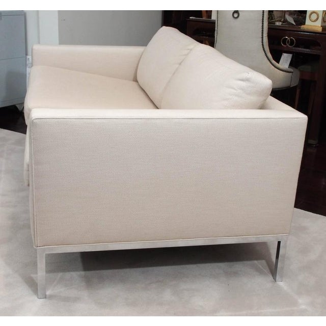 Knoll Style Upholstered Sofa For Sale In New Orleans - Image 6 of 7