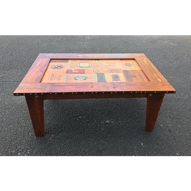 Cigar Box Coffee Table - Image 6 of 11