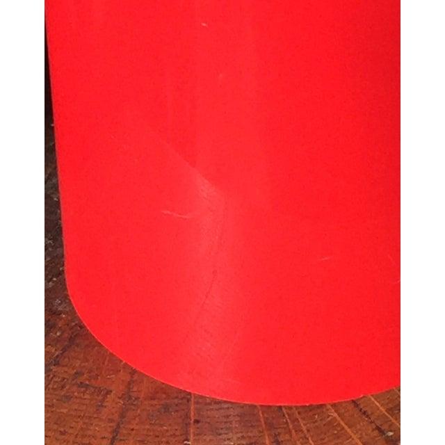 1970s Erik Magnussen for Stelton Danish Modern Red & Black Insulated Carafe For Sale In Philadelphia - Image 6 of 10