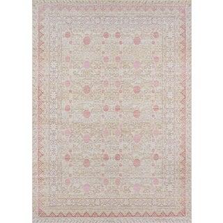 Momeni Isabella Nirav Pink 4' X 6' Area Rug For Sale