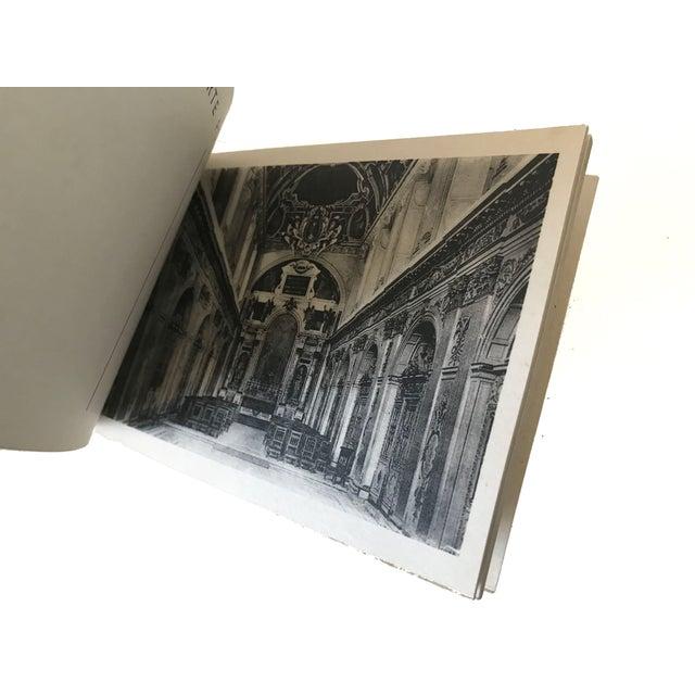 French Chateau De Fontainbleau Souvenir Postcard Book For Sale - Image 10 of 11