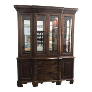 American Drew Company Cherry China Cabinet For Sale