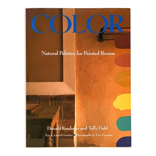 First Edition 1992 Color: Natural Palettes for Painted Rooms Reference Book For Sale