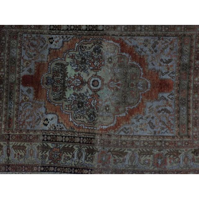 Leon Banilivi Antique Oushak Rug - 3′10″ × 5′7″ - Image 4 of 5