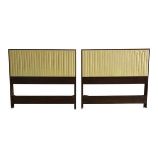 Mid 20th Century Vintage Paul McCobb Planner Group Twin Size Headboards- A Pair For Sale