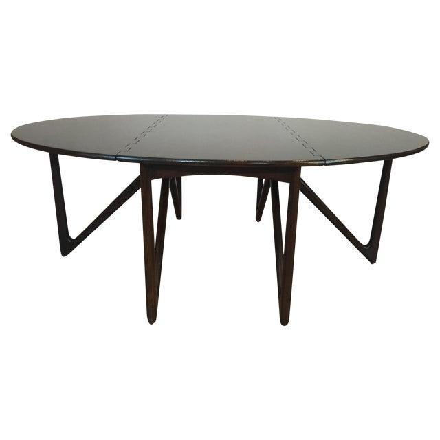 Kurt Ostervig Danish Modern Drop Leaf Dining Table - Image 1 of 11