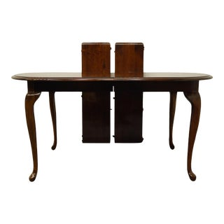 Kincaid Furniture Solid Cherry Traditional Style Dining Table For Sale