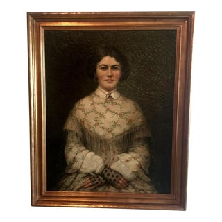 Antique Portrait of a Lady