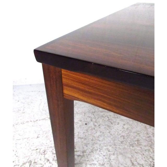 Wood Mid-Century Bruksbo Rosewood Coffee Table by Haug Snekkeri For Sale - Image 7 of 9