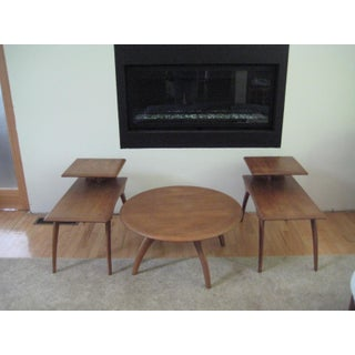 Heywood Wakefield Mid-Century Coffee Table & End Tables - Set of 3 Preview
