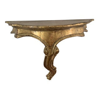 Florentine Giltwood Bracket For Sale