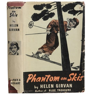 "1939 ""Signed Edition, Phantom on Skis"" Collectible Book For Sale"
