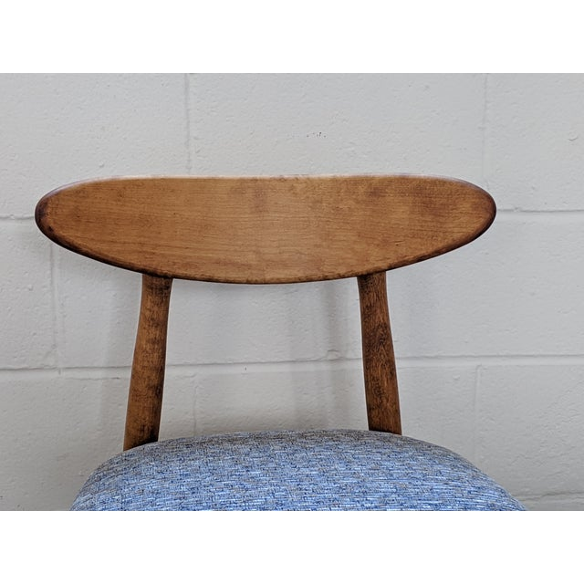 1960s Vintage Baumritter Style Side Chair For Sale - Image 9 of 11