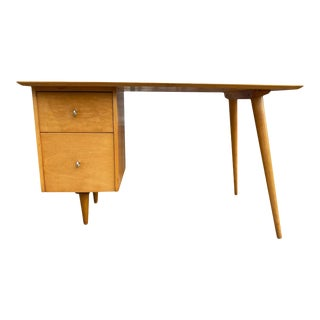 Paul McCobb Maple Planner Group Desk, Circa 1955 For Sale