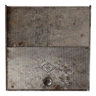 Vintage Metal Bread Box For Sale