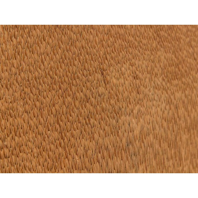 Brown Vintage Corrugated Cardboard Chair For Sale - Image 8 of 9