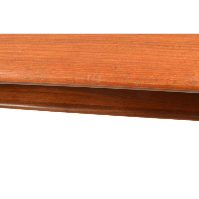 Mid-Century Svend A. Madsen Teak Coffee Table For Sale - Image 7 of 7