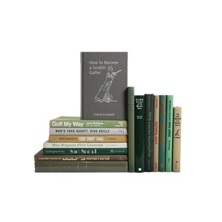 The Vintage Golder: Golf Greats and More - Set of 15