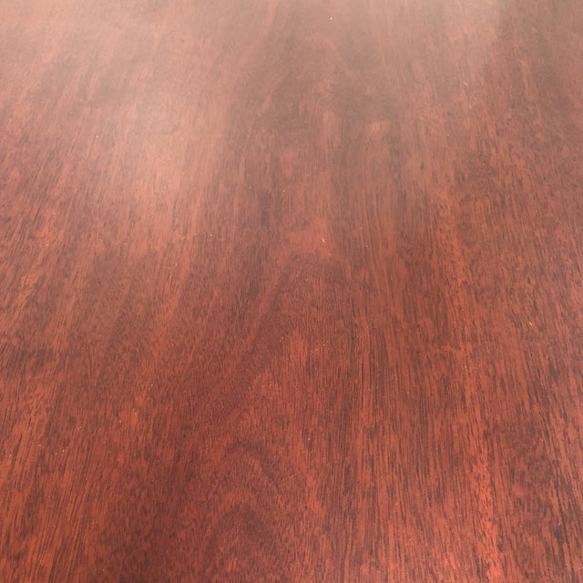 Chippendale Style Mahogany Dining / Entry Table For Sale In San Francisco - Image 6 of 7