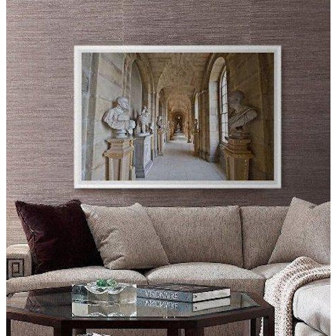 'Castle Howard' Framed and Matted Print on Rag Paper by Michael Beck For Sale - Image 4 of 8