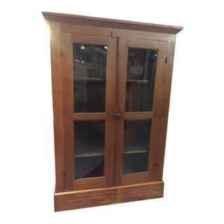 American Primitive Pie Hutch/Cabinet For Sale
