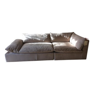 American Leather Versa Grand Sectional