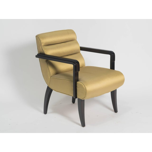Pair of Swaim deco style armchairs. Perfect for a modern home.