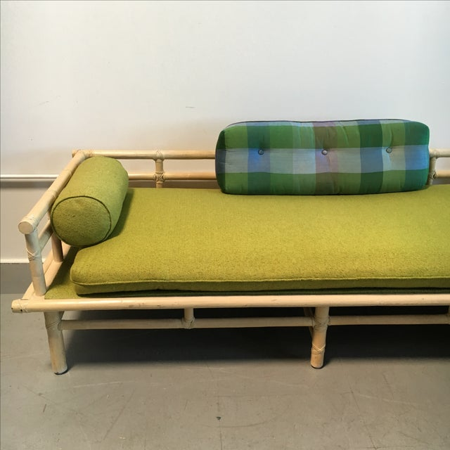 McGuire Rattan Daybed Set - Image 5 of 8