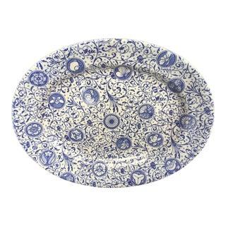 1881 Gildea & Walker England Daimo Pattern Aesthetic Movement Platter For Sale