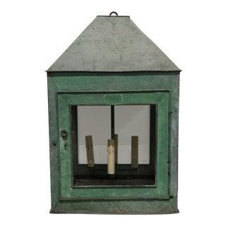 1910s Repurposed English Lantern For Sale
