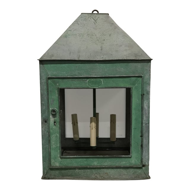 1910s Repurposed English Lantern For Sale