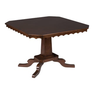 Murdock Table - Large in Mink For Sale