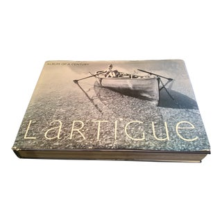 Vintage French Photographer Jacques Henry Lartigue Coffee Table Book For Sale